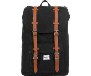 68ca3c4bd1c Buy Herschel Little America Backpack Mid-Volume black tan pu from ...