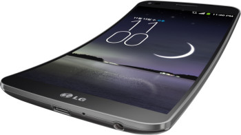 LG G Flex – 6 Zoll Smartphone (2,26GHz, 2GB RAM, 13 Mpx Kamera, Android OS) für 403,95€
