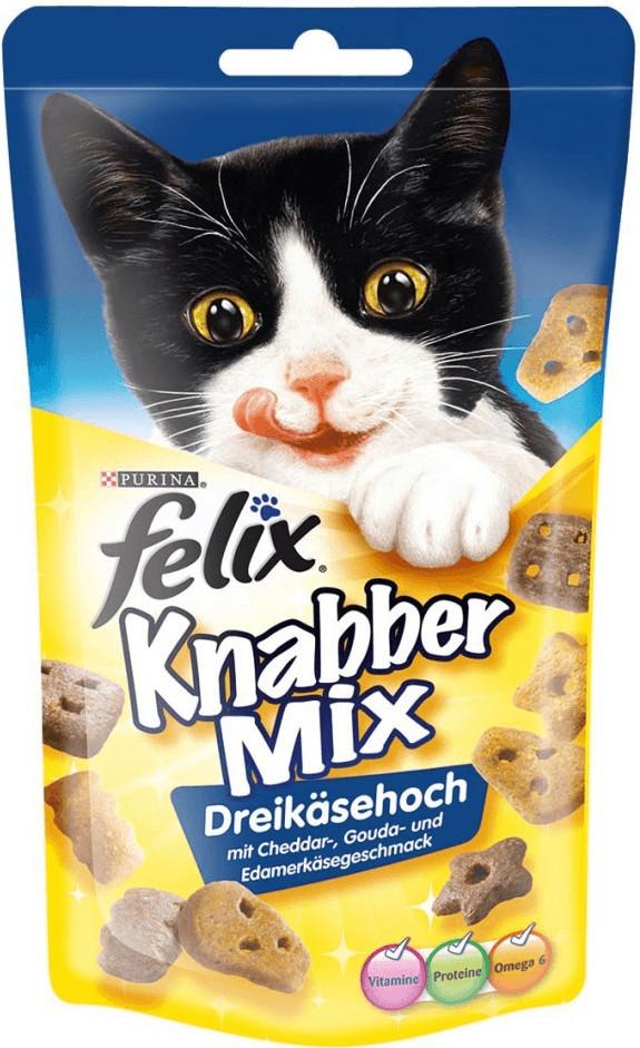 Felix Snack KnabberMix Dreikäsehoch (60 g)