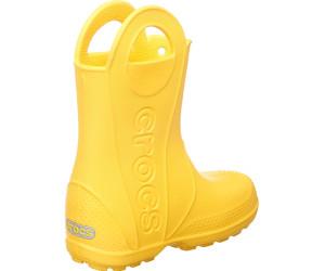 Handle Ab Kids Boot Rain 92 13 Crocs It Yellow WCexBodr