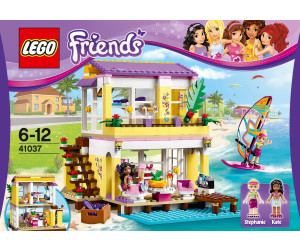 lego friends la maison de vacances de st phanie 41037 au meilleur prix sur. Black Bedroom Furniture Sets. Home Design Ideas