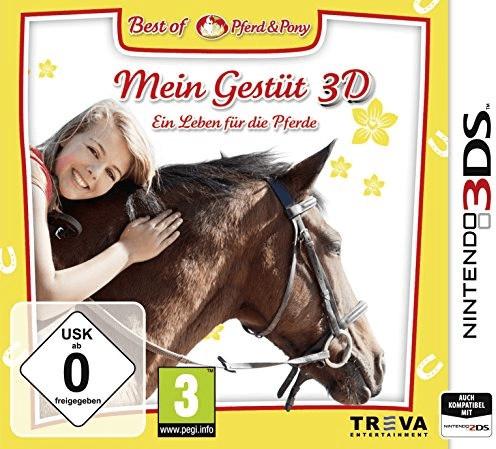 Mein Gestüt 3D: Ein Leben für die Pferde (3DS)