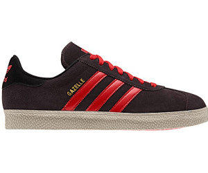adidas gazelle black orange