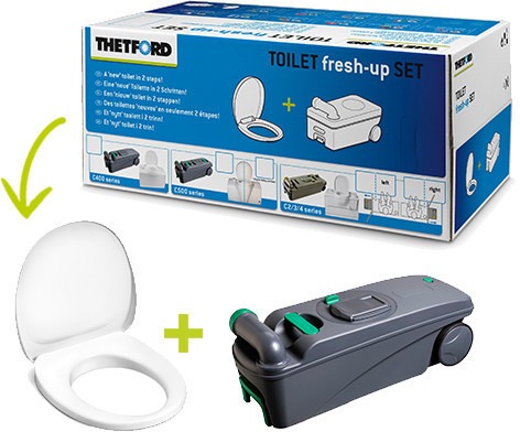 Thetford Toilet fresh-up Set (C400)