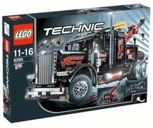 lego technic gro er schwarzer abschlepptruck 8285 ab 669. Black Bedroom Furniture Sets. Home Design Ideas