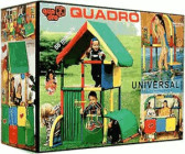 Quadro Klettergerüst Universal : Quadro spielhaus spielzelt preisvergleich günstig bei idealo