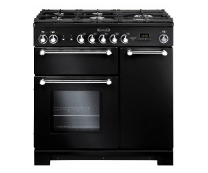Buy Rangemaster Kitchener 90 Dual Fuel Black From 163 1 269