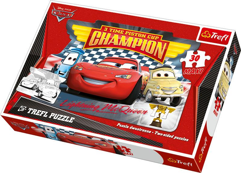 Trefl Disney Cars - Maxi doppelseitig (30 Teile)