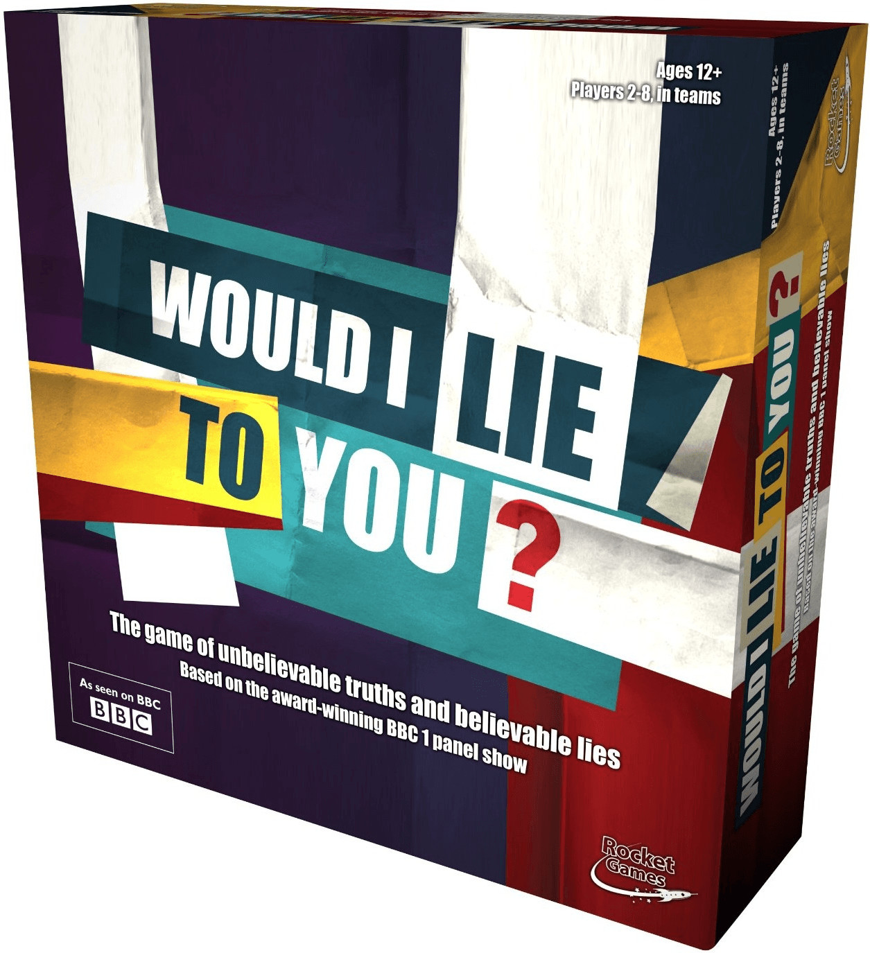 Rocket Would I lie To You Board Game (engisch)