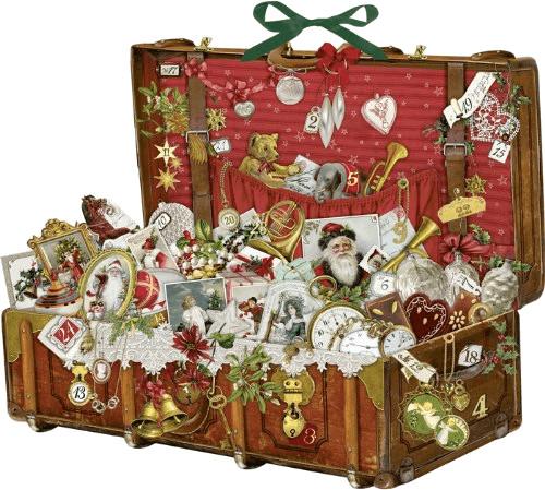 Coppenrath Nostalgischer Weihnachtskoffer Adven...