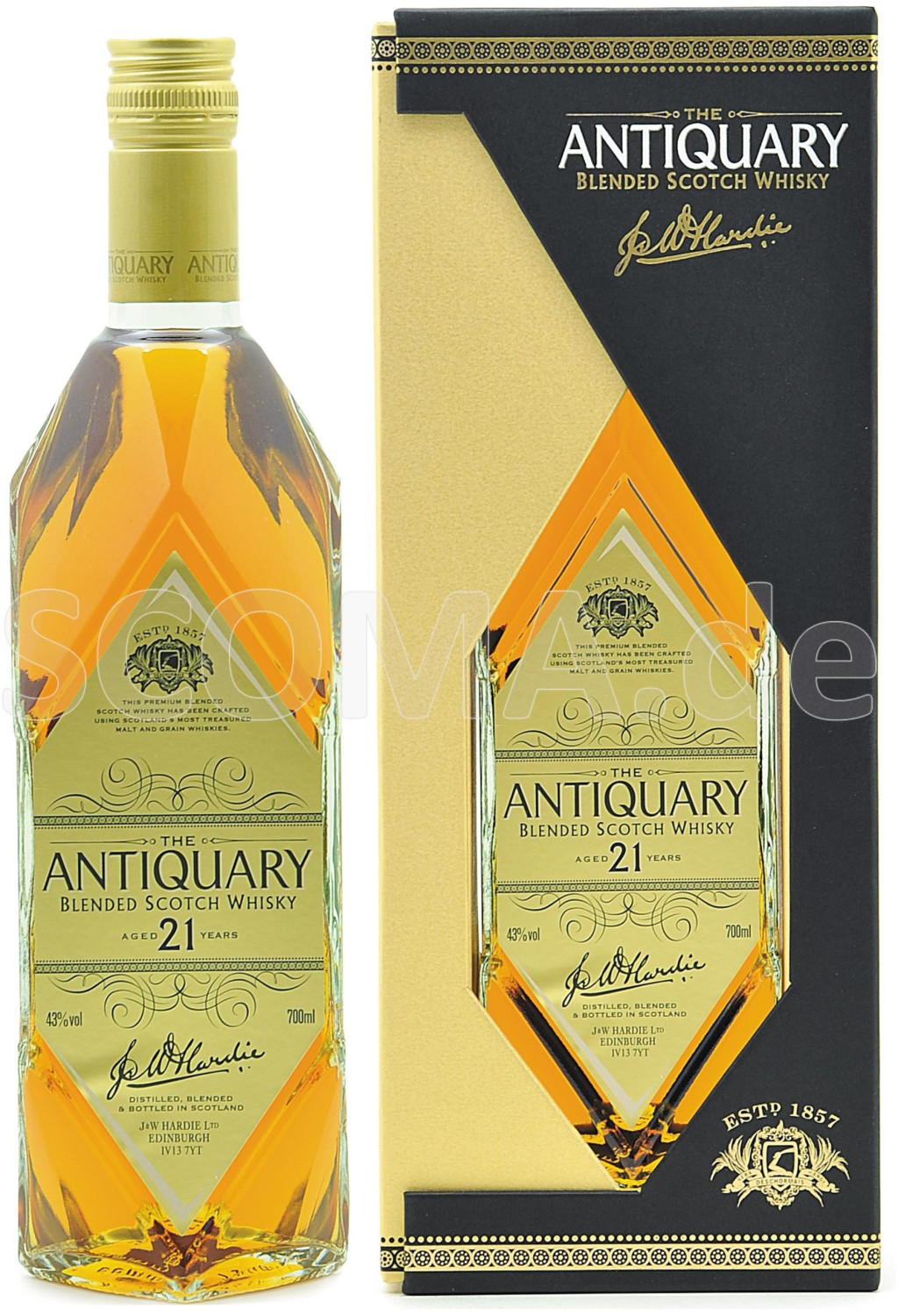 Tomatin The Antiquary 21 Jahre 0,7l 43%