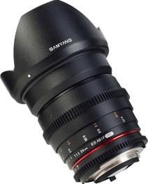 Samyang 24mm T1.5 ED AS UMC VDSLR [Sony E]