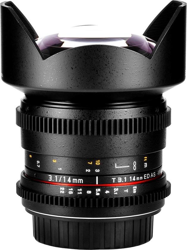 Image of Samyang 14mm T3.1 ED AS IF UMC VDSLR Sony E