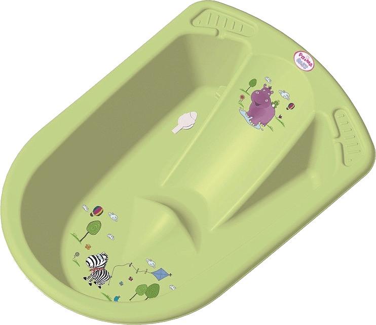 OKT Anatomische Badewanne Hippo lime