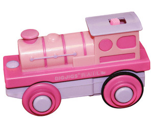 Image of Bigjigs Battery Operated Engine Pink