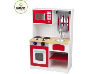 Kidkraft Modern Country Küche 53222 | Kidkraft Red Country Play Kitchen Ab 76 49 Preisvergleich Bei