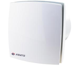 Axial Ventilator Badlüfter weiss Nachlaufrelais Feuchtigkeitsensor Ø 100mm