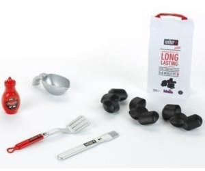 klein weber grill zubeh r set ab 7 00 preisvergleich. Black Bedroom Furniture Sets. Home Design Ideas