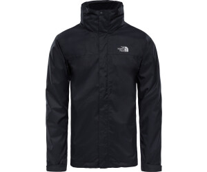 North face men's ice jacket black hyvent