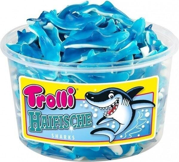 Trolli Haifisch Fruchtgummi 1 Kg