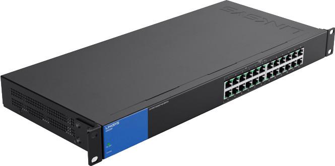 Image of Linksys 24-Port Gigabit PoE Switch (LGS124P)
