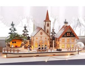 Weihnachtsdeko Bei Heine.Heine Led Weihnachtsdorf Aus Holz 428081434 Ab 25 49