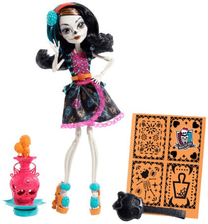 Monster High Art Class Skelita Calaveras