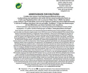 Playstation Plus Karte 12 Monate.Sony Playstation Plus Abonnement Ab 21 99 August 2019 Preise