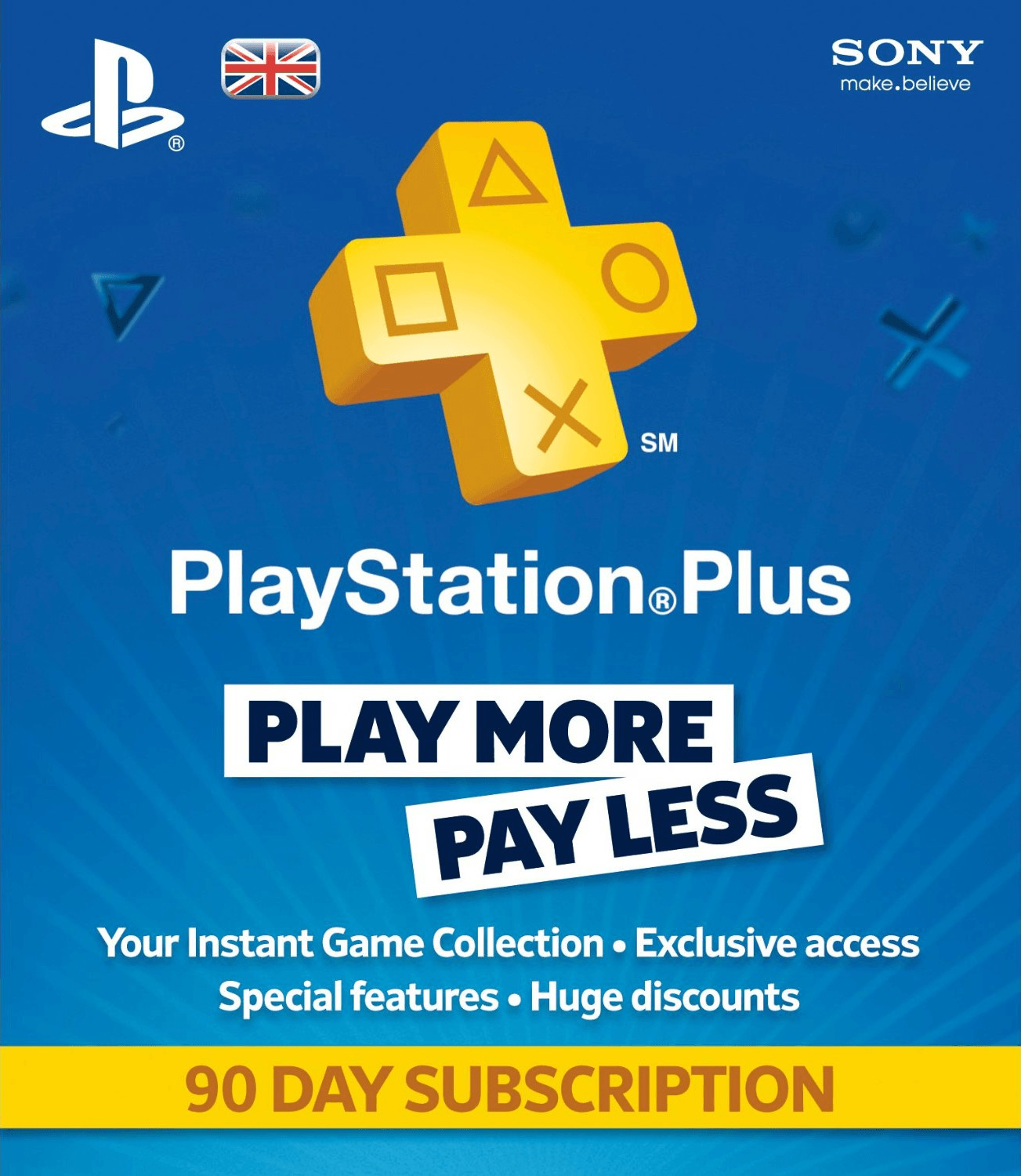 Vorschaubild von Sony PlayStation Plus Abonnement