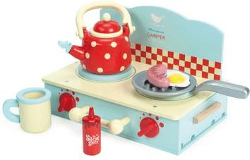 Le Toy Van Honeybake - Camper Mini Stove Set (T...
