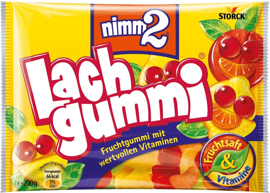 Nimm 2 Lachgummi (200 g)