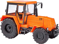 Busch Model Traktor Fortschritt ZT 323 A Flugha...