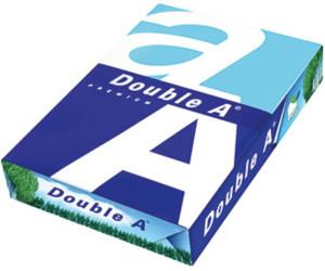 2500 Blatt A4 Farbdruckerpapier Double A Premium-Kopierpapier 80g hochweiß glatt