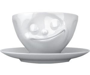 FIFTYEIGHT 3D glückliche TV Tasse mit Untertasse