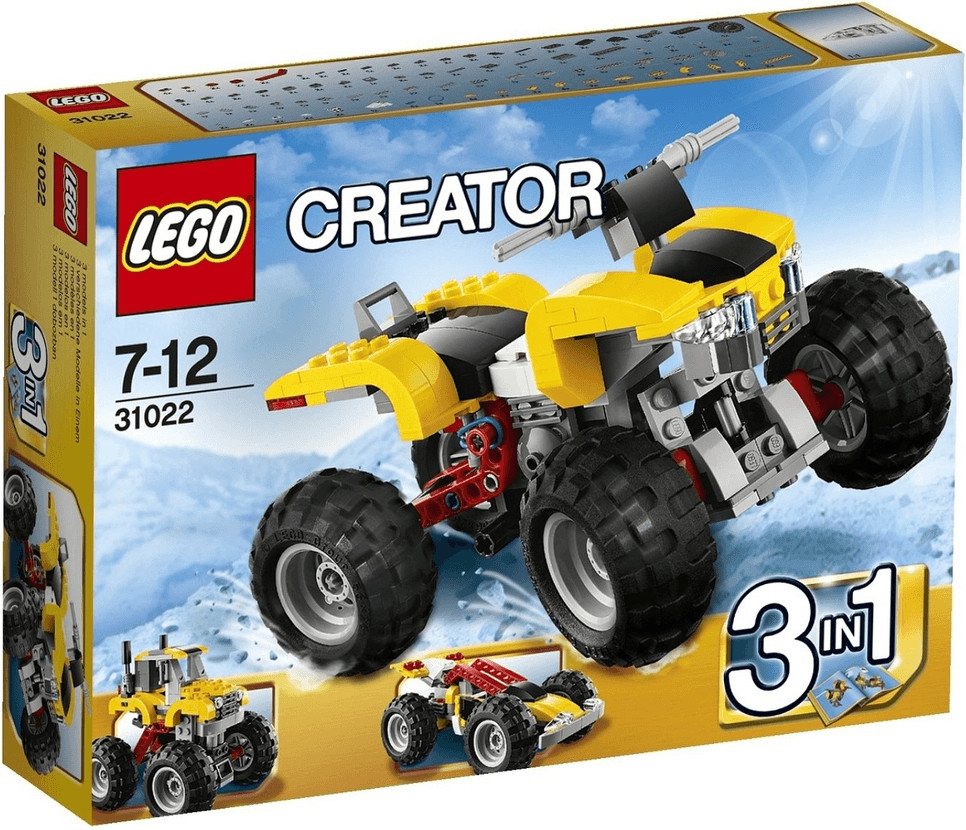 LEGO Creator - 3 in 1 Turbo Quad (31022)