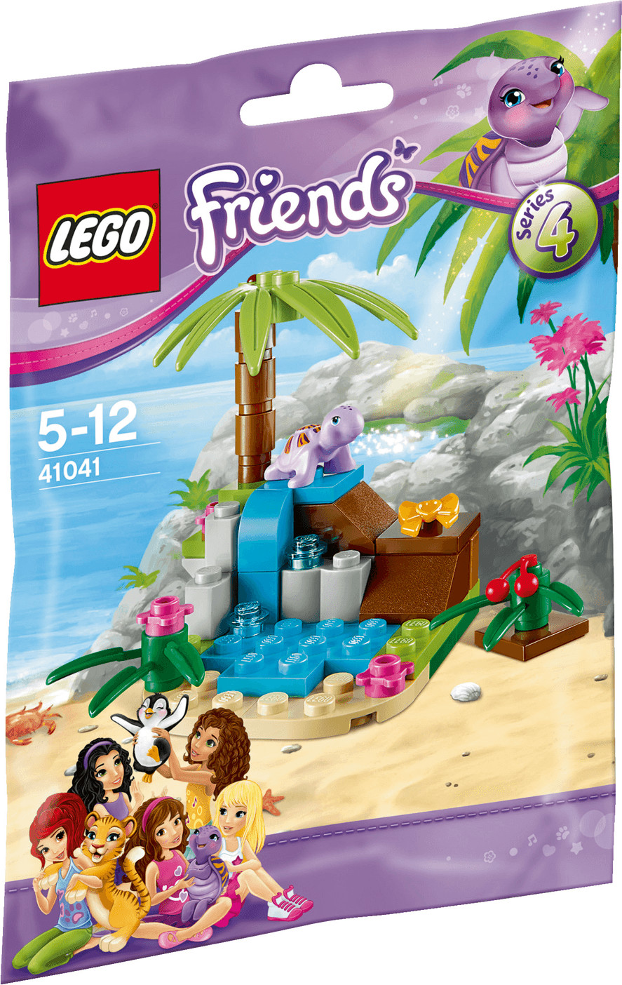 LEGO Friends - La tortue et son île paradisiaque (41041)