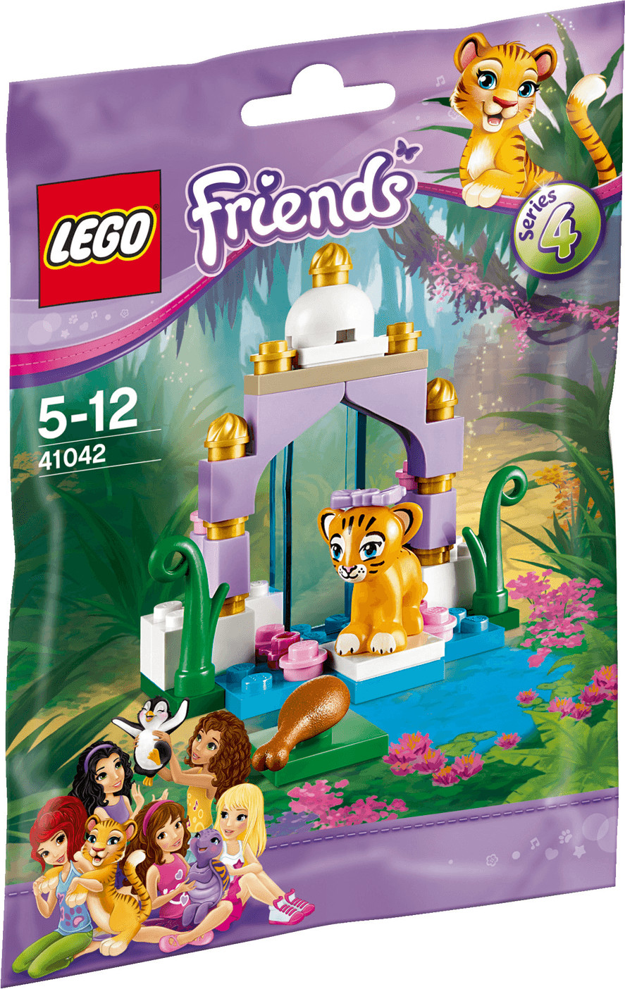LEGO Friends - Le tigre et son temple asiatique (41042)
