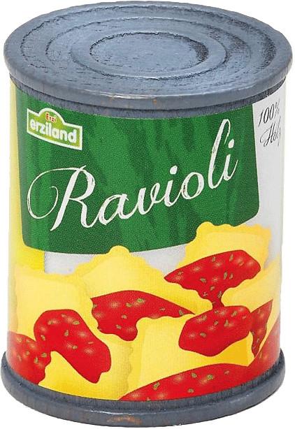 Erzi Ravioli mit Tomatensauce