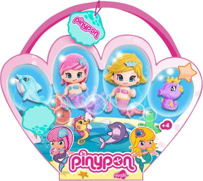 Famosa Pinypon - Pack 2 sirenas