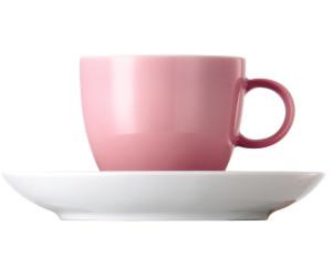 Thomas Sunny Day Light Pink Rosa Espresso Mokka Tasse 0,08l mit Untertasse NEU