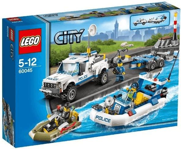 LEGO City - L'intervention du bâteau de police (60045)
