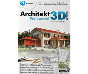 avanquest architekt 3d x7 professional de mac ab 34 95. Black Bedroom Furniture Sets. Home Design Ideas