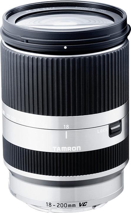 Tamron 18-200mm f3.5-6.3 Di III VC (plateado) [Sony Nex]