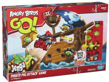 Hasbro Angry Birds Go - Jenga Pirate Pig Attack