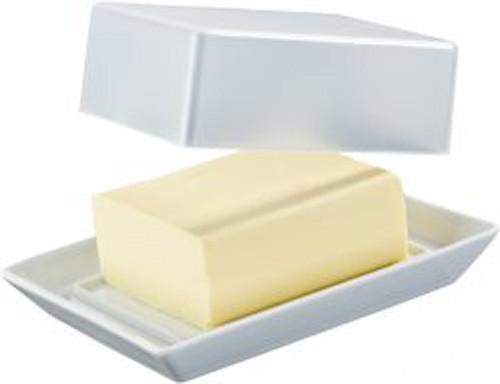 Arzberg Tric weiß Butterdose mit Deckel 250 g