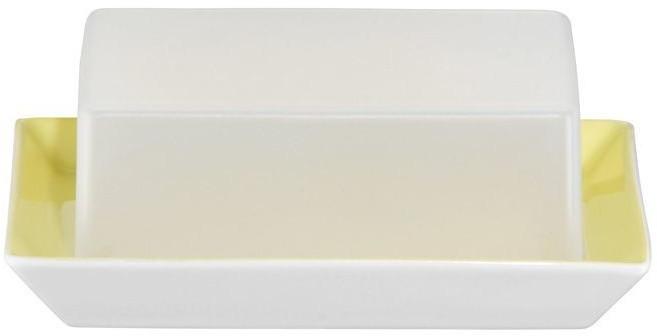 Arzberg Tric gelb Butterdose mit Deckel 250 g