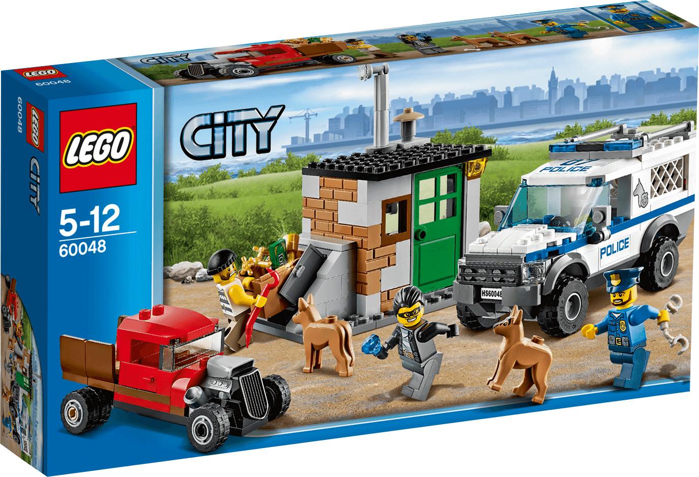 LEGO City L'intervention de la fourgonnette de police (60048)