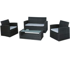 siena garden parla lounge set 4 tlg ab 479 00 preisvergleich bei. Black Bedroom Furniture Sets. Home Design Ideas