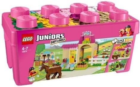 LEGO Juniors - Grande boîte du centre équestre (10674)
