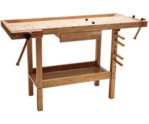 Dema Holz-Werkbank 137 x 50 x 86 (20901)